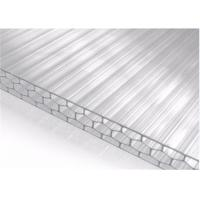 China 16mm Uv Protection Multiwall Polycarbonate Roofing With Nonflammability wholesale