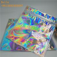Buy cheap Glossy Plastic Holographic Plastic Bag For Bath Salt Sea Food / Clothing Packaging from wholesalers
