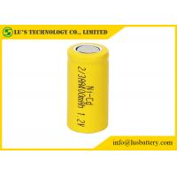 China NICD 1.2V 2/3AA 400mah Nickel Cadmium Nicd Battery Low Inner Resistance on sale