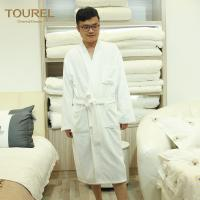 China Four Seasons Hotel Quality Bathrobes Imprinted Logo With 1000g Weight wholesale