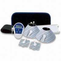 China Three-in-one Deluxe EMS Massaging Set with Six Preset Mode Devices and Four Electrode Pads wholesale