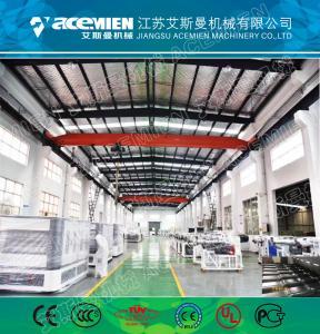 China PVC+ASA Composite Plastic Roofing Sheet Extrusion Line Plastic Roof Tile Machine/Pvc Plastic Roof Sheet for warehouse wholesale