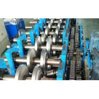 China Manual Steel Profile C Z Purlin Roll Forming Machine 40 Mm-80 Mm Width 17 Stations wholesale