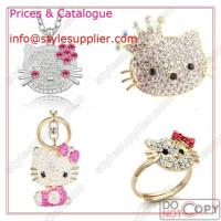 Buy cheap Hello Kitty Jewelry, Key Chain, Necklaces, Earrings, Rings, Bracelet, Bangle from wholesalers