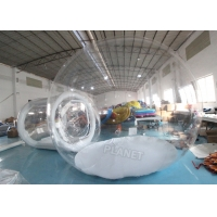 China Igloo Dome Transparent 4m Inflatable Bubble Tent wholesale