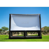 China 0.4mm PVC Inflatable Movie Screen Billboard For Advertising wholesale