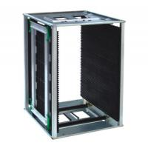 China Traceless 10e6 Ohm Metal Plastic ESD Magazine Rack wholesale