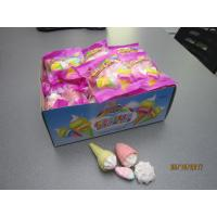 China Four In One Ice Cream , Bun , Strawberry Shaped Sweet Marshmallow Candy For Christmas wholesale