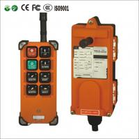 China 8 Single channels wireless remote control for hoist ,high quality crane remote controls F21-E1B on sale