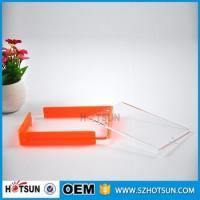 Quality Custom design 4*6cm Cute acrylic photo frame / cheap picture frames in bulk for sale