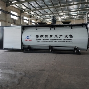 China Horizontal Cylinder Rubber Powder Modified Bitumen Machine wholesale