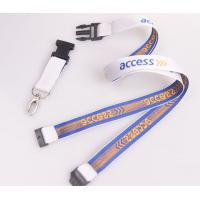 China Gifts & Crafts » Promotional Gifts custom Polyester woven lanyards no minimum order on sale
