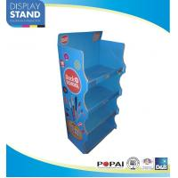Quality Stationery POS Cardboard Countertop Displays For Pencils Promoting for sale