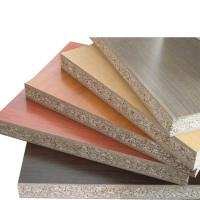 China 18mm Thickness Melamine Faced Chipboard With Polished Surface FSC Standard wholesale