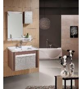 China Bathroom Cabinet / PVC Bathroom Cabinet (W-221) wholesale