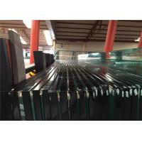 China 2-19mm Clear & Tinted Toughened Tempered Safety Glass With Ce&CCC&ISO Certificate wholesale