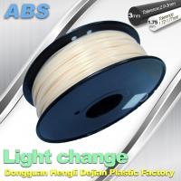 China White To Blue Color Changing Filament ABS Filament For 3D Printers wholesale