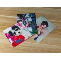 China Manufacturer Price 100LPI lenticular Plastic Cards Offset Printing 3D business Cards with strong lenticular effect wholesale