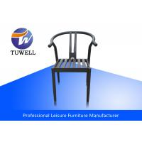 China Colorful Outdoor Strong Welding Steel Dining Chairs With Heavy Duty wholesale