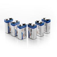 China 9V Li-ion Ni-MH Battery Charger with 600mAh Lithium-ion Rechargeable Batteries 2 Packs wholesale