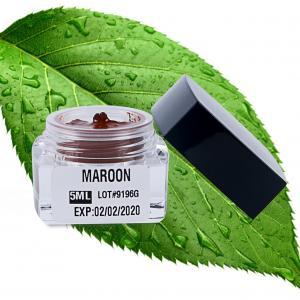 China Small Microshading Semi Permanent Makeup Pigments For Eyebrown 5ML Maroon wholesale