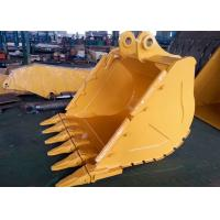 China Wheeled Extension Excavator Grapple Bucket With 6 Teeth And Side Protective Plate wholesale