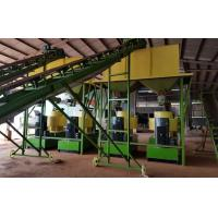 China Cow dung fertilizer pellets production line with 1-5T/H capacity wholesale