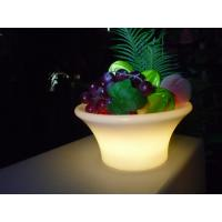 China Professional Led Illuminated Furniture , Colorful Glowing Ice Bucket wholesale