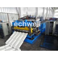 Buy cheap 7.5KW Metal Tile Roll Forming Machine For Color Steel / Galvanized Coil from wholesalers