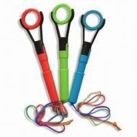 China 18g Magnifier Ballpoint Pens, Available in Various Colors, Measures 4.2 x 17cm or 0.7 or 1.0mm wholesale
