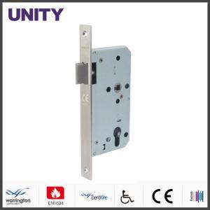 China Certifire Stainless Steel Mortice Door Lock for Fire Door Latch Passage EN1634 Fire Tested EN12209 and CE Marking wholesale