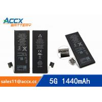 China ACCX brand new high quality li-polymer internal mobile phone battery for IPhone 5G with high capacity of 1440mAh 3.7V wholesale