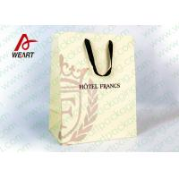 China Customized Art Paper Gift Bags Surface UV Spoting With Cotton Ribbon wholesale