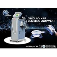 China 10.4 Inch Touch Color Screen Cool Tech Fat Freezing Machine / Cryolipolysis Equipment wholesale
