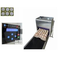 China Full Automatic  Egg Continuous Inkjet Printer With 600 DPI Printing Resolution wholesale