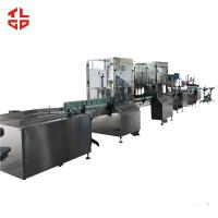 China Stainless Steel Aerosol Spray Paint Filling Machine For Sanitizer Disinfector Spray wholesale