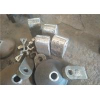 China High Manganese Steel Hammers for Clinker Crushers Hardness More Than 190HB wholesale