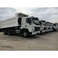 China 10 Wheeler 3 Axle Heavy Duty Dump Truck For One Bed And Front Lift System wholesale