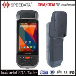 China IP65 Laser Handheld RFID Reader , Portable Data Terminal Barcode Scanner Android wholesale