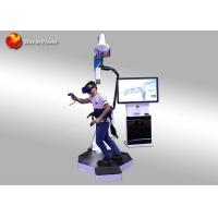 China Interactive Shooting Game Standing Up 9D VR Walking Platform 1320 * 1060 * 2340mm on sale