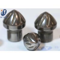 China Ore Mining Tool Tungsten Carbide Buttons Mushroom Shaped High Hardness on sale