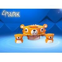 Mini Bear Sand Water Table With 4 Chairs Equipped 20 Kg Colorful Sand