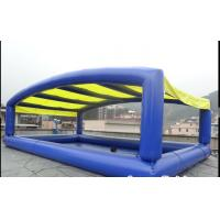 China Oxford Cloth Durable Inflatable Swimming Pool Above Ground CE Certified on sale