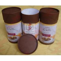 China Coated Paper Food Packaging Tubes Containers Cardboard Roll Packaging wholesale