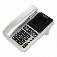 China Caller ID Phone, Record 62 Incoming Calls, with 24 Rings and Hold on Music Function wholesale