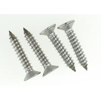 China Polishing Stainless Steel Cross Recessed Pan Head Screw Tapping Sharp Point 6 X 35mm wholesale