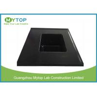 China Integrated Chemical Resistant Epoxy Resin Lab Sinks With Laboratory Water Basin wholesale