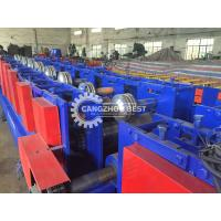 China Construction Material Cable Tray Making Machine With Punching Hole Device on sale