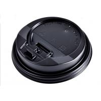 China Heavy Duty Eco friendly Paper Coffee Cups Lids For Hot / Cold Dirnk No Smell wholesale