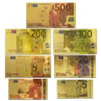 China 5 - 500 Euro Bill and Currency Colored Edition wholesale
